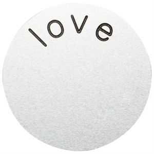 Picture of 'Love' Medium Silver Coin